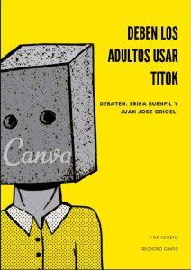 Mesa de debate. ¿Deben los adultos usar Titok?